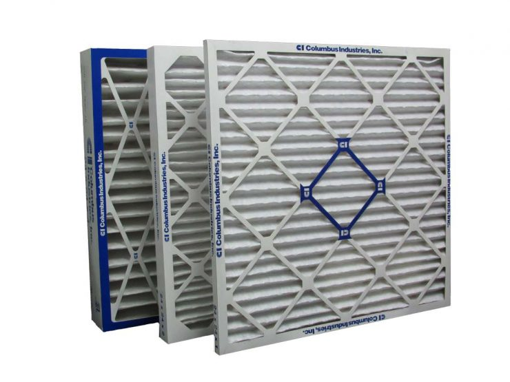 Columbus Industries Sure Shield MERV 10 air filter distributed by Joe W. Fly Co., Inc.