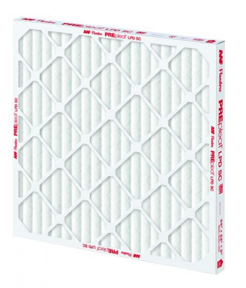 AAF PREpleat Low Pressure Drop Standard Capacity air filter distributed by Joe W. Fly Co., Inc.